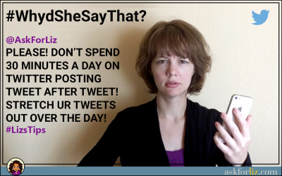 PLEASE! Don't Spend 30 Minutes A Day On Twitter Posting Tweet After Tweet!