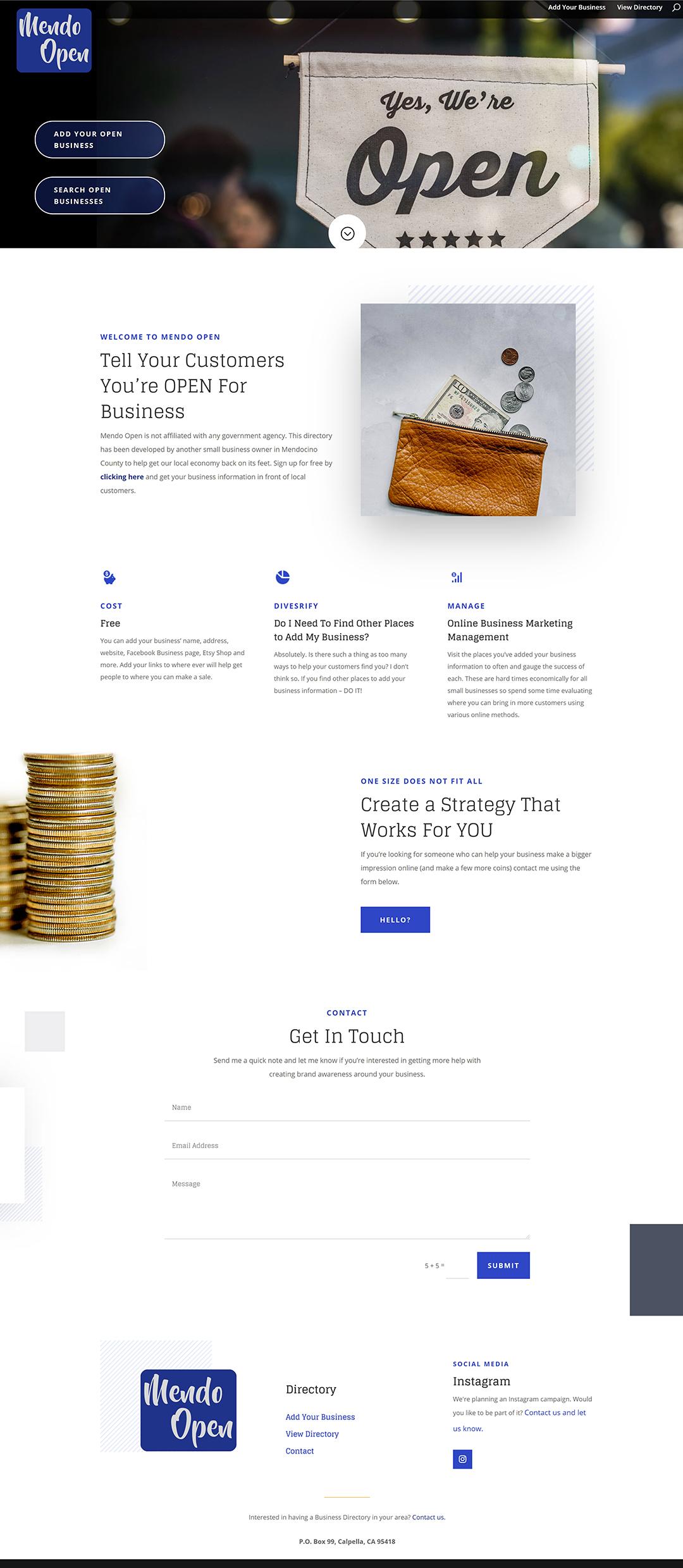 Mendo-Open-website